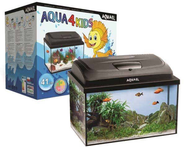Аквариум Aquael AQUA4 KIDS 40-25л прямой