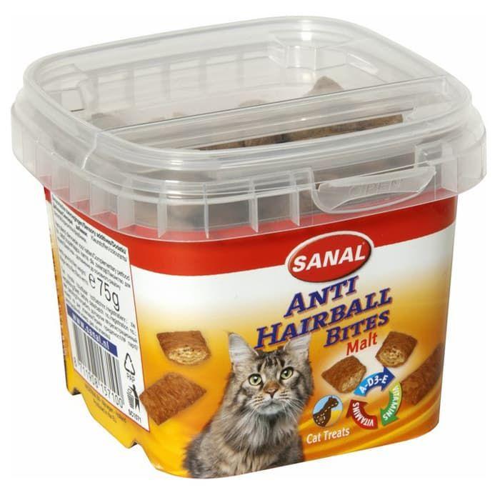 SC1561 витамины для кошек SANAL Malt Bits 75 г