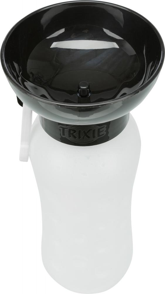 Трикси Бутылка с миской, пластиковая, 0,55 л, арт.24609
