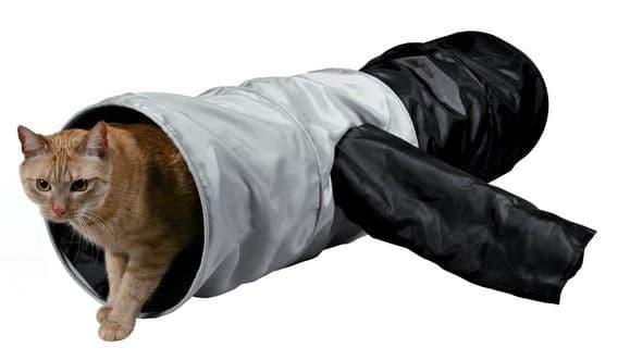 Трикси Тоннель для кошки шуршащий, 115 см, ф 30 см, арт.4302