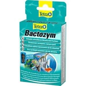 Tetra Кондиционер с культурой бактерий Bactozym 10 капсул на 1000л