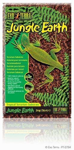 Субстрат для террариума EXO TERRA Земля тропического леса Jungle Earth 26,4л