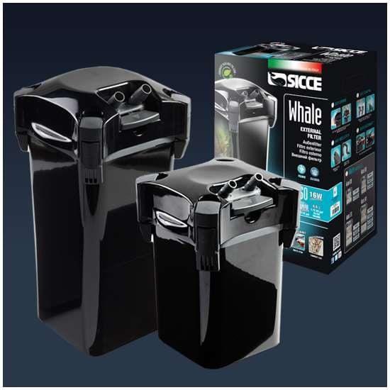 Фильтр внешний SICCE WHALE 200 черный 700 л/ч для аквариумов 100-200 л
