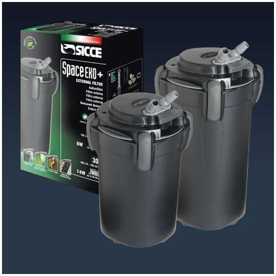 Фильтр внешний SICCE SPACE EKO plus 300, 900 л/ч для аквариумов до 300 л
