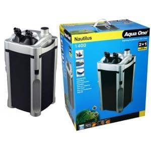 Внешний фильтр AquaOne Nautilus 1400, 1400л/ч, 22W, для аквариумов до 400 л. (нет в наличии)