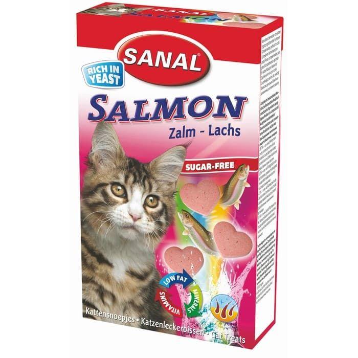 SC3300 витамины для кошек SANAL Salmon 85 таб./50 г