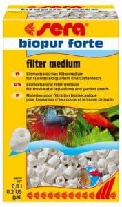 Наполнитель биологический в аквариум sera BIOPUR FORTE 0,8 л