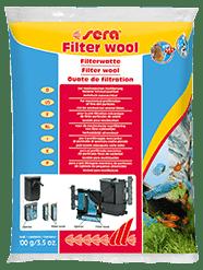 Sera Фильтрующая вата для аквариумных фильтров FILTER WOOL 100 г