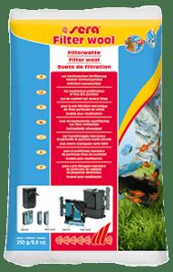 Sera Фильтрующая вата для аквариумных фильтров FILTER WOOL 250 г