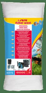 Sera Фильтрующая вата для аквариумных фильтров FILTER WOOL 500 г