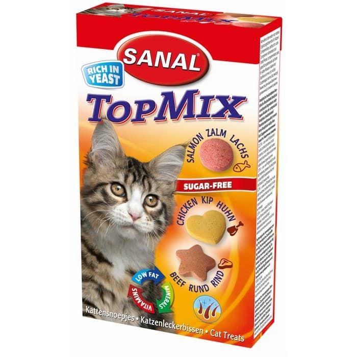 SC3500 витамины для кошек SANAL Topmix 85 таб./50 г