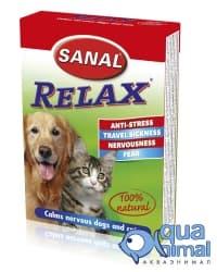 SV5021 витамины для кошек SANAL RELAX 15 таб.