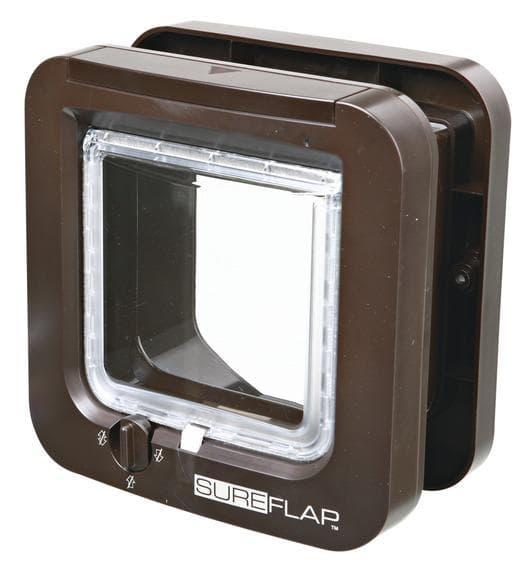 Trixie Дверца для кошки SureFlap, 21х21см, коричневая артикул 38535