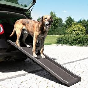 Пандус для собак из багажника автомобиля 40х1,56м, для собаки весом до 90кг артикул 3939
