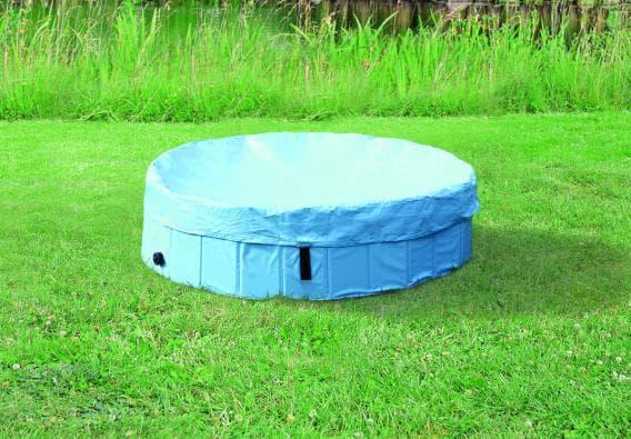 Крышка на бассейн для собак 160 см, светло-голубой артикул 39487