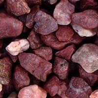 """UDeco Canyon Red - Натуральный грунт для аквариумов """"Красный гравий"""", 4-6 мм, 6 л"""