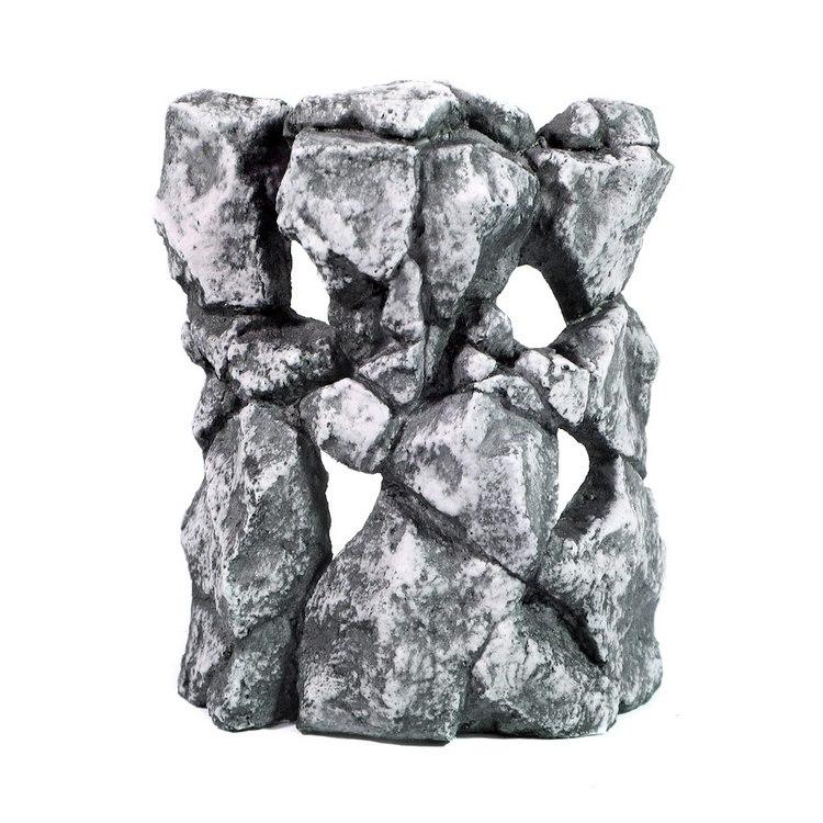 """Грот """"Декси"""" - Камень №495 (маскирующая декорация угловая)(20х9х23)"""