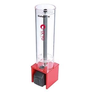 Фильтры кипящего слоя BioReact 90 D90 120х100х370380 мм, объем биопеллетов 0,4л, аквариум до 400л, помпа AQ-800, 6Вт