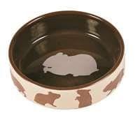 Миска для грызунов, 80 мл/8 см, керамика