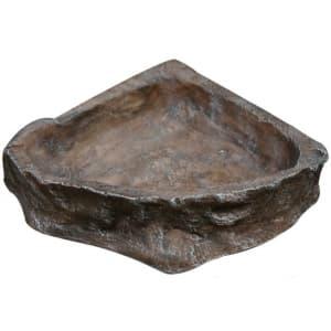 Кормушка для террариума Reptile One Corner Dish, угловая большая 17х15 см