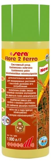 Sera Удобрение для аквариумных растений FLORE 2 FERRO 50 мл