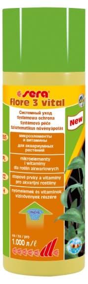 Sera Удобрение для аквариумных растений FLORE 3 VITAL 250 мл