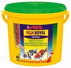 Sera Корм для рыб KOI ROYAL ST medium 21 л (3,95 кг) ведро