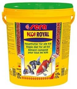 Sera Корм для капов кои KOI ROYAL ST large 21 л (4,15 кг) ведро