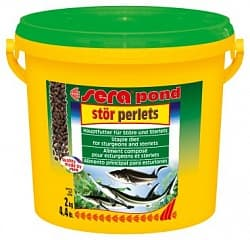 Sera Корм для прудовых рыб STOR PERLETS 3,8 л (2 кг) ведро