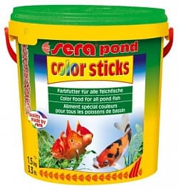 Sera Корм для рыб COLOR STICKS 10 л (1,5 кг) ведро
