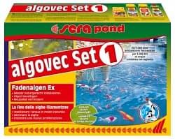 Sera Набор против водорослей POND ALGOVEC SET 1