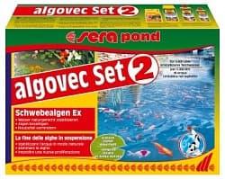 Sera Набор против водорослей POND ALGOVEC SET 2