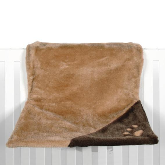 Trixie Гамак для кошки, 45х24х24 см, светлокоричн./коричневый, плюш, на радиатор артикул 4322