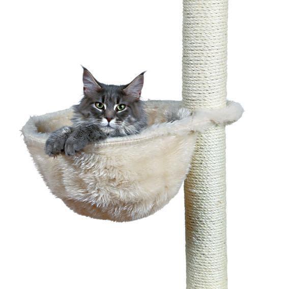 Trixie Гамак для кошки к домику ф 38 см, кремовый, арт.43921