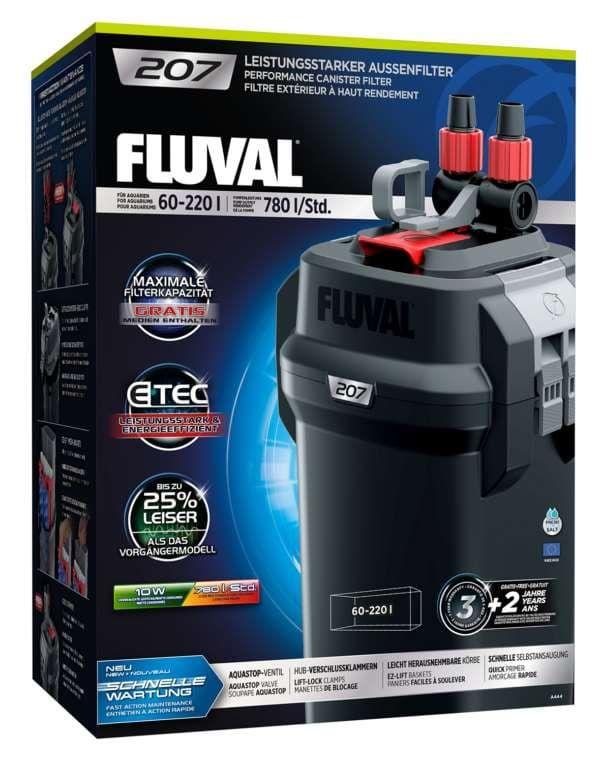 Фильтр внешний FLUVAL 207, 780-460л/ч от 60 до 220л