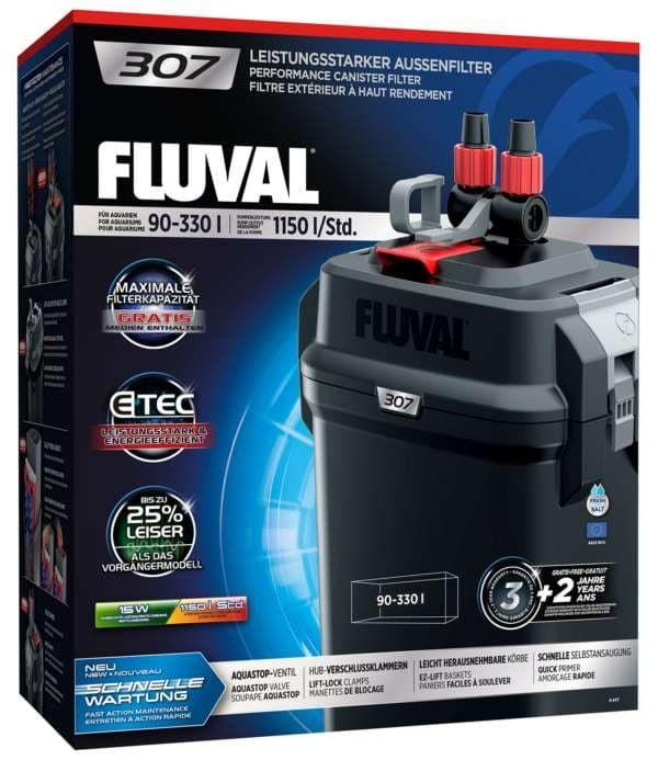 Фильтр внешний FLUVAL 307, 1150-780л/ч от 90 до 330л