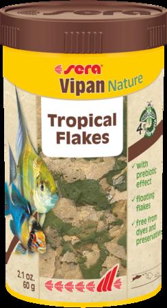 Сера Корм для рыб основной в хлопьях VIPAN NATURE 1000 мл 210 г (S32240)