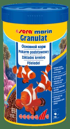 Sera Marin Granulat корм для морских рыб 250 мл , арт.0380