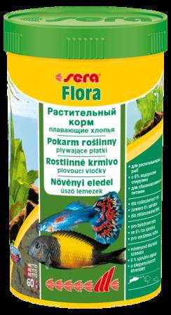 Сера Корм для рыб растительный в хлопьях FLORA  250 мл 60 г (S0650)