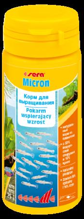 Sera Корм для мальков MICRON 50 мл 25 г (Сера Корм для мальков MICRON 50 мл 25 г (S0720)