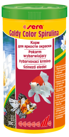 Sera Корм для золотых рыб в гранулах GOLDY Color Spirulina  100 мл 39 г (улучшает окраску) (S0881)