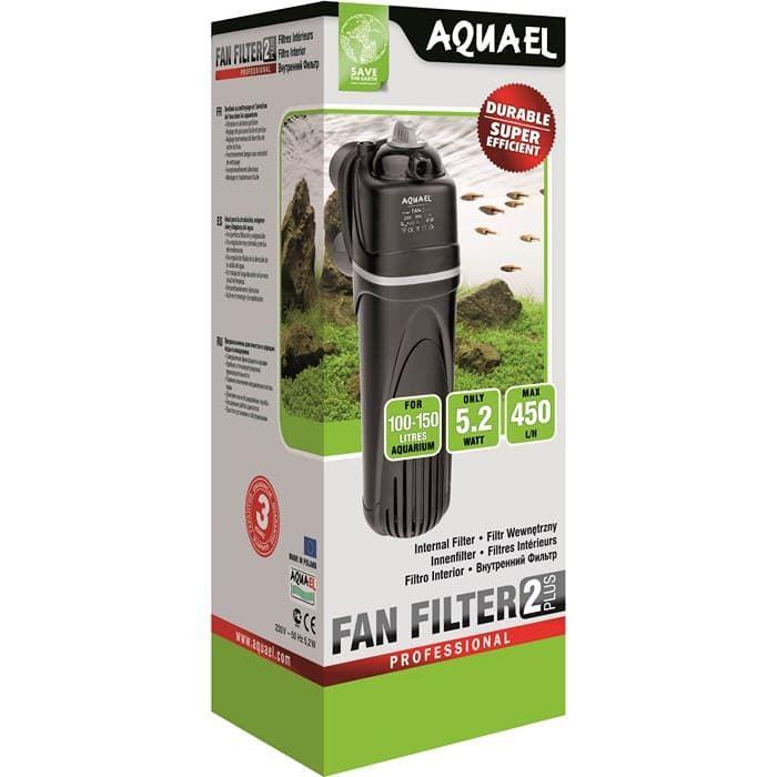 Aquael FAN-2 plus аквариумный фильтр внутренний 450л/ч до 150л