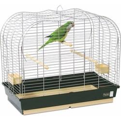 PetInn Клетка д/птиц  VULCANO (2 большие кормушки, 2 жердочки) 65х36x55 (Comfy by Aquael)