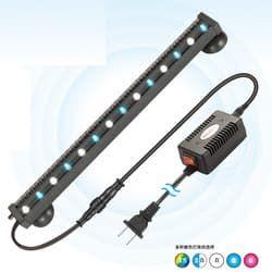Распылитель для аквариума СИЛОНГ со светодиодной многоцветной подсветкой 1Вт, 35см (XL-P35)