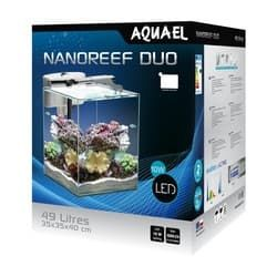 Aквариум Aquael NANO REEF DUO LED 49л Белый