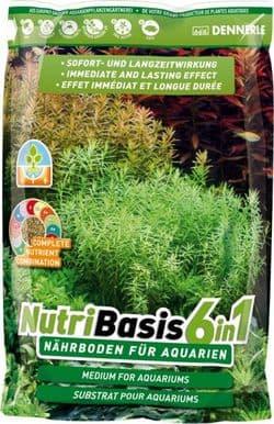 Субстрат питательный DENNERLE NUTRIBASIS 6IN1, 4,8 кг