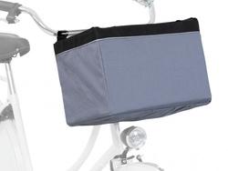 Трикси Сумка-переноска на велосипед, 38х25х25 см, серый, арт.13104