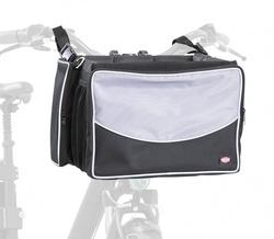Трикси Сумка-переноска на велосипед, 41х26х26 см, серый/черный, арт.13106