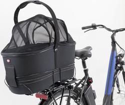 Трикси Сумка-переноска для велоперевозок EVA,удлинённая, 29х49х60 см, черный, арт.13110