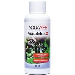 Средство для воды AQUAYER Аквамед, 60 mL